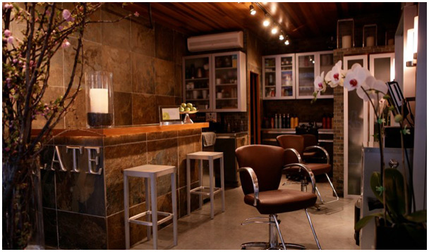 Slate Salon Interior